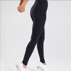 Gymshark Fused Ankle Black Leggings Size Small